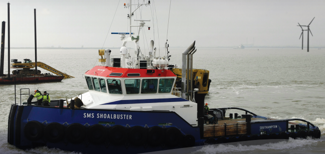 SMS Shoalbuster GssPlant Multicats Shoalbusters EuroCarriers